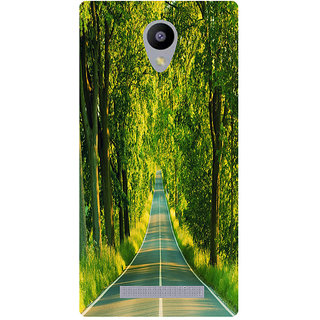 Amagav Printed Back Case Cover for Lyf Wind 3 64LfyWind3