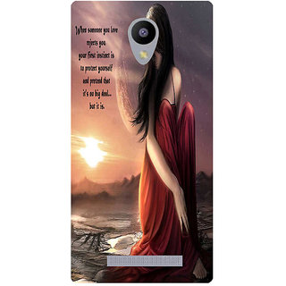 Amagav Printed Back Case Cover for Micromax Canvas Pace 4G Q416 236MmPace4G-Q416
