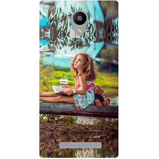 Amagav Printed Back Case Cover for Lyf Wind 3 561LfyWind3