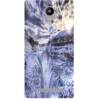 Amagav Printed Back Case Cover for Lyf Wind 3 43LfyWind3