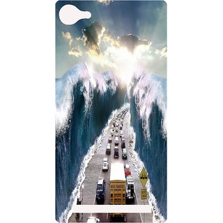 Amagav Printed Back Case Cover for Lyf Flame 8 107-LfyFlame8