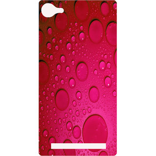 Amagav Printed Back Case Cover for Lyf Flame 8 420-LfyFlame8