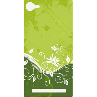 Amagav Printed Back Case Cover for Lyf Flame 8 429-LfyFlame8