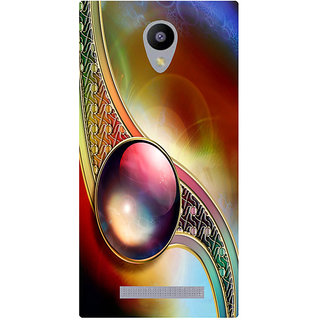 Amagav Printed Back Case Cover for Micromax Canvas Pace 4G Q416 441MmPace4G-Q416