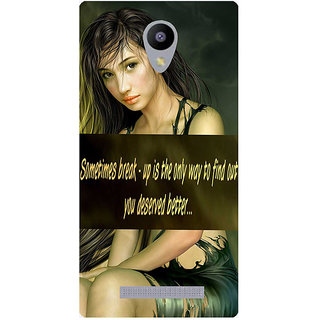 Amagav Printed Back Case Cover for Lyf Wind 3 491LfyWind3