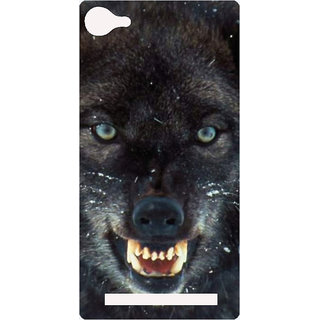 Amagav Printed Back Case Cover for Lyf Flame 8 505-LfyFlame8
