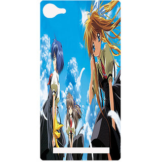 Amagav Printed Back Case Cover for Lyf Flame 8 78-LfyFlame8