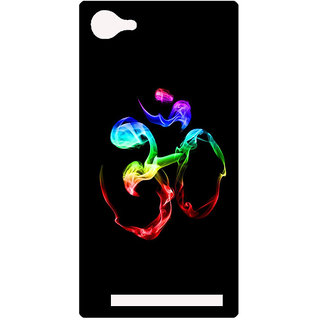 Amagav Printed Back Case Cover for Lyf Flame 8 677-LfyFlame8