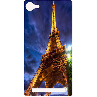 Amagav Printed Back Case Cover for Lyf Flame 8 415-LfyFlame8