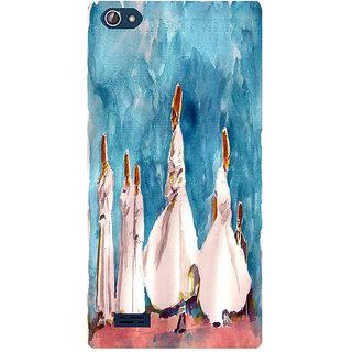 Amagav Printed Back Case Cover for Lava X50 139LavaX50