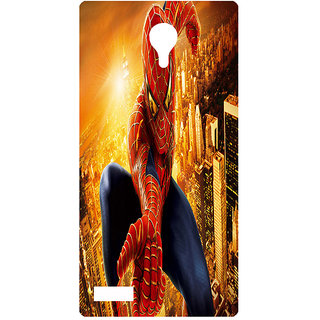 Amagav Printed Back Case Cover for Lyf Flame 7 215LfyFlame7