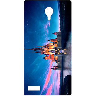 Amagav Printed Back Case Cover for Lyf Flame 7 489LfyFlame7