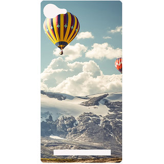 Amagav Printed Back Case Cover for Lyf Flame 8 520-LfyFlame8