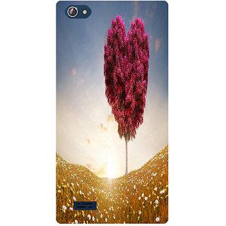 Amagav Printed Back Case Cover for Lava X50 18LavaX50