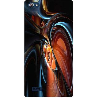 Amagav Printed Back Case Cover for Lava X50 252LavaX50