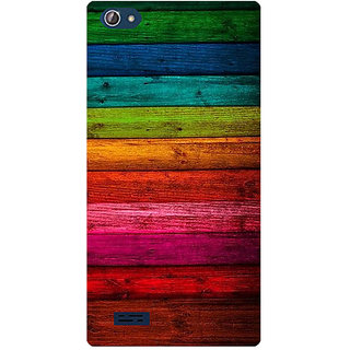 Amagav Printed Back Case Cover for Lava X50 382LavaX50