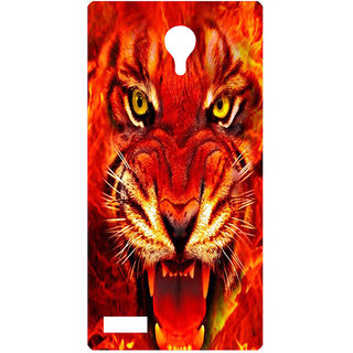 Amagav Printed Back Case Cover for Lyf Flame 7 460LfyFlame7