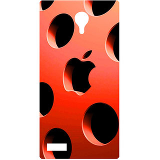 Amagav Printed Back Case Cover for Lyf Flame 7 656LfyFlame7