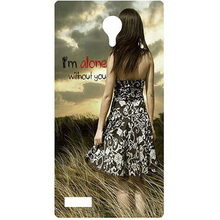 Amagav Printed Back Case Cover for Lyf Flame 7 80LfyFlame7
