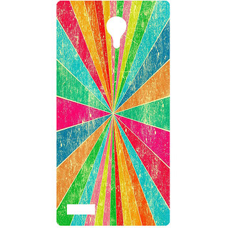 Amagav Printed Back Case Cover for Lyf Flame 7 92LfyFlame7