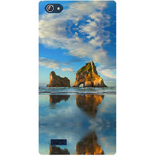 Amagav Printed Back Case Cover for Lava X50 629LavaX50