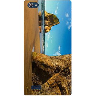 Amagav Printed Back Case Cover for Lava X50 632LavaX50