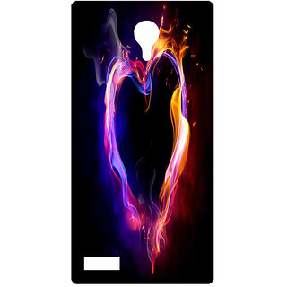 Amagav Printed Back Case Cover for Lyf Flame 7 403LfyFlame7