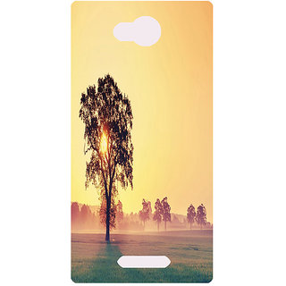 Amagav Printed Back Case Cover for Lava A68 246LavaA68