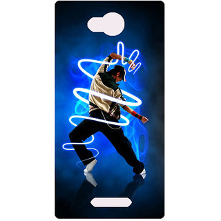 Amagav Printed Back Case Cover for Lava A68 335LavaA68