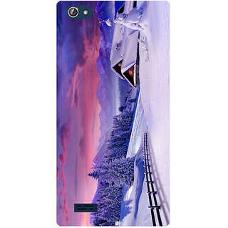 Amagav Printed Back Case Cover for Lava X50 511LavaX50