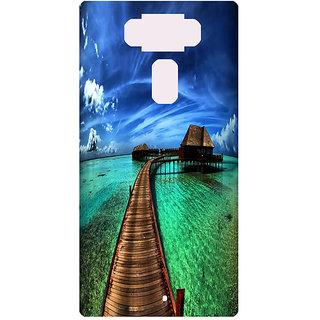 Amagav Printed Back Case Cover for Asus Zenfone 3 ZE552KL 56AsusZenfone3-ZE552KL