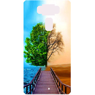 Amagav Printed Back Case Cover for Asus Zenfone 3 ZE552KL 661AsusZenfone3-ZE552KL