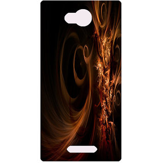 Amagav Printed Back Case Cover for Lava A68 138LavaA68