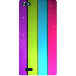 Amagav Printed Back Case Cover for Lava X50 536LavaX50