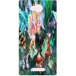 Amagav Printed Back Case Cover for Micromax Canvas Spark 3 152MmSpark3