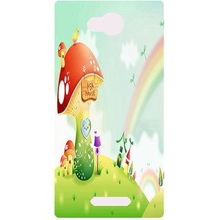 Amagav Printed Back Case Cover for Micromax Canvas Spark 3 167MmSpark3