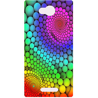 Amagav Printed Back Case Cover for Micromax Canvas Spark 3 17MmSpark3