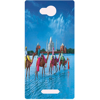 Amagav Printed Back Case Cover for Lava A68 182LavaA68