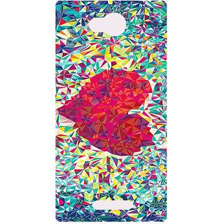 Amagav Printed Back Case Cover for Micromax Canvas Spark 3 198MmSpark3