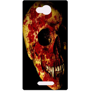 Amagav Printed Back Case Cover for Micromax Canvas Spark 3 31MmSpark3