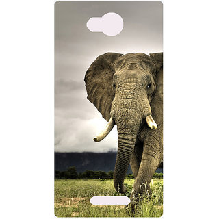 Amagav Printed Back Case Cover for Micromax Canvas Spark 3 531MmSpark3