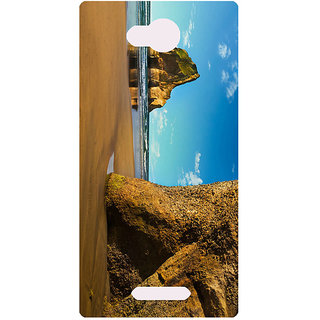 Amagav Printed Back Case Cover for Lava A68 632LavaA68
