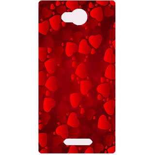 Amagav Printed Back Case Cover for Lava A68 402LavaA68