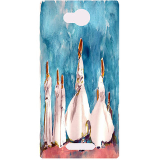 Amagav Printed Back Case Cover for Micromax Canvas Spark 3 139MmSpark3