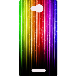 Amagav Printed Back Case Cover for Lava A59 217LavaA59