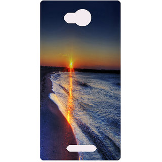 Amagav Printed Back Case Cover for Lava A59 245LavaA59