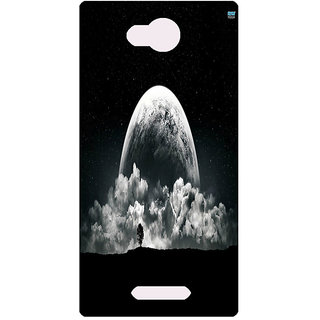 Amagav Printed Back Case Cover for Lava A59 261LavaA59
