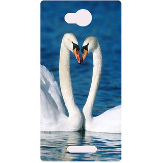 Amagav Printed Back Case Cover for Lava A59 287LavaA59