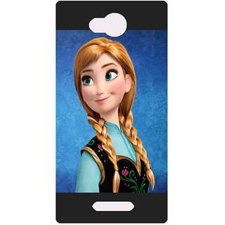 Amagav Printed Back Case Cover for Lava A59 496LavaA59