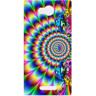Amagav Printed Back Case Cover for Micromax Canvas Spark 3 498MmSpark3